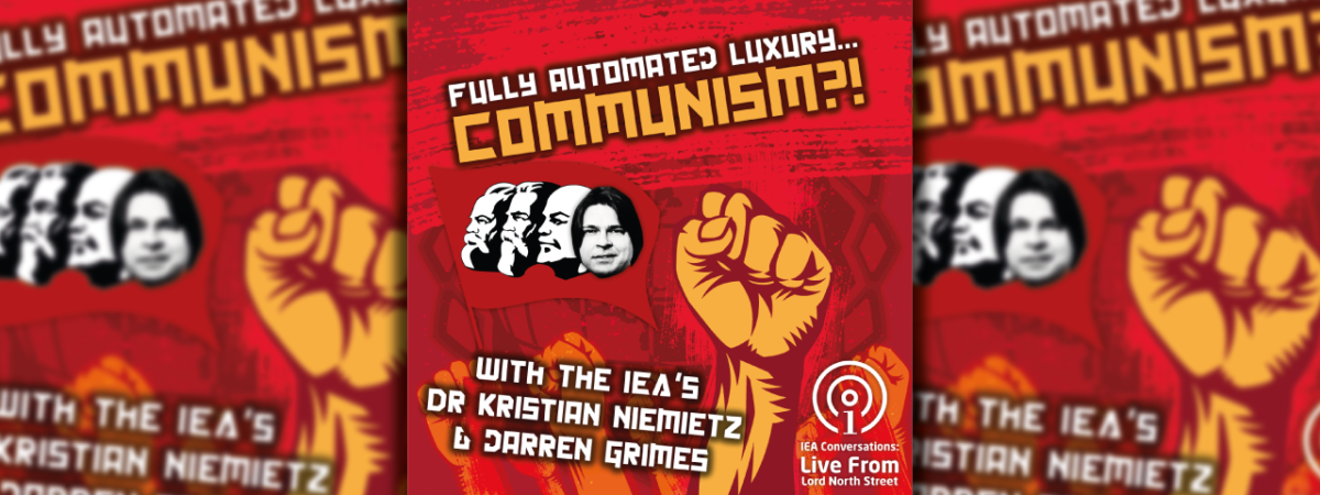 [PODCAST] Fully Automated Luxury… Communism?!
