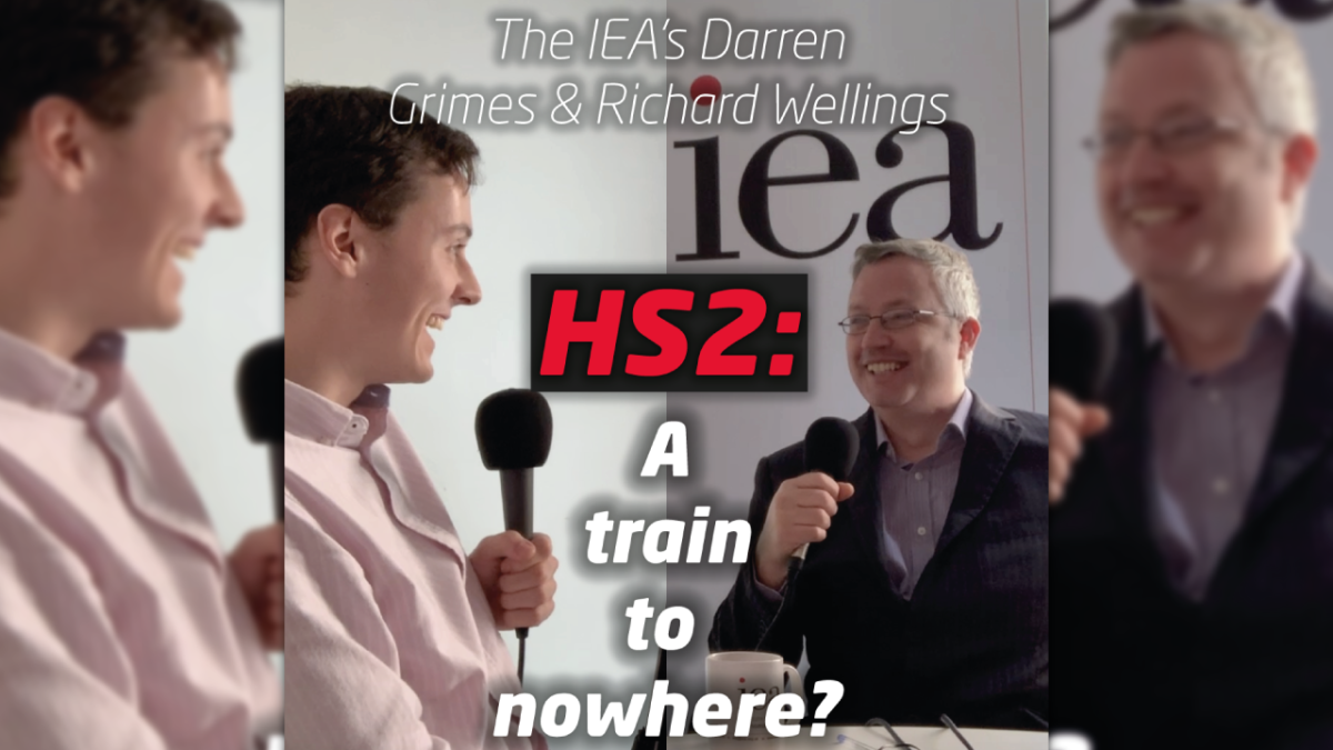 [PODCAST] HS2: A train to nowhere?